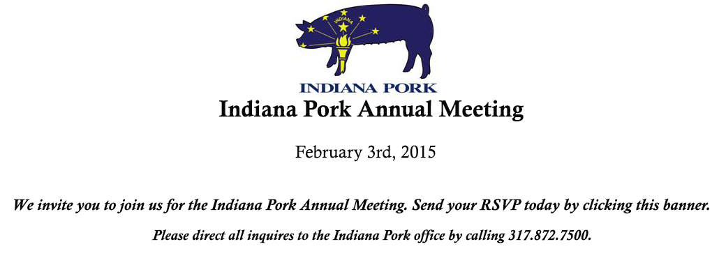 Indiana Pork Annual Meeting Register Today