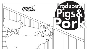 Producers, Pigs and Pork - Coloring Book
