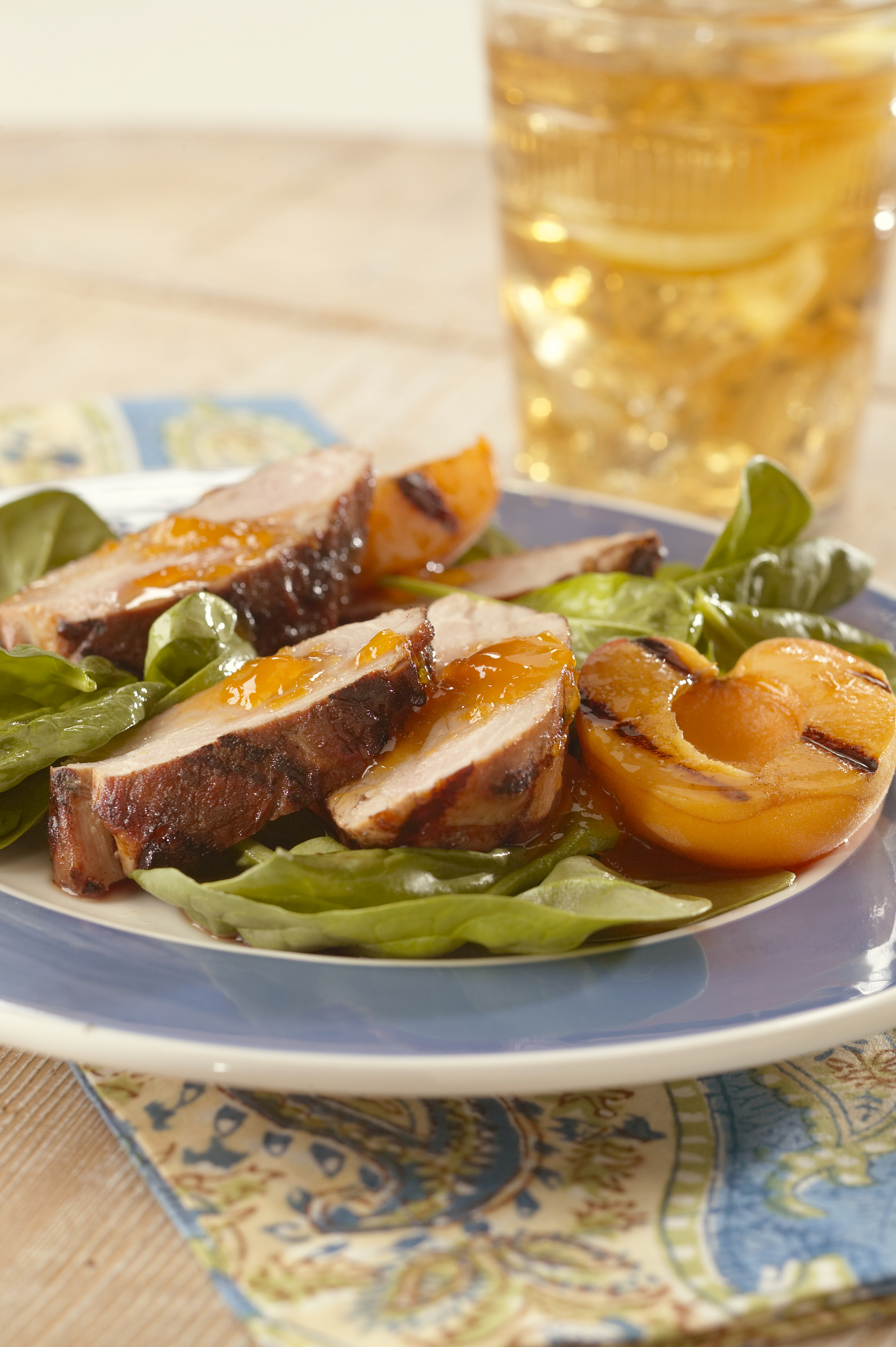 Asian Spiced Pork Tenderloins with Apricot Sauce