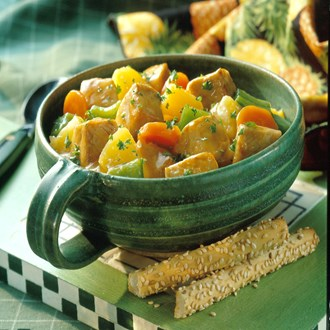 Pepper & Pineapple Pork Stew